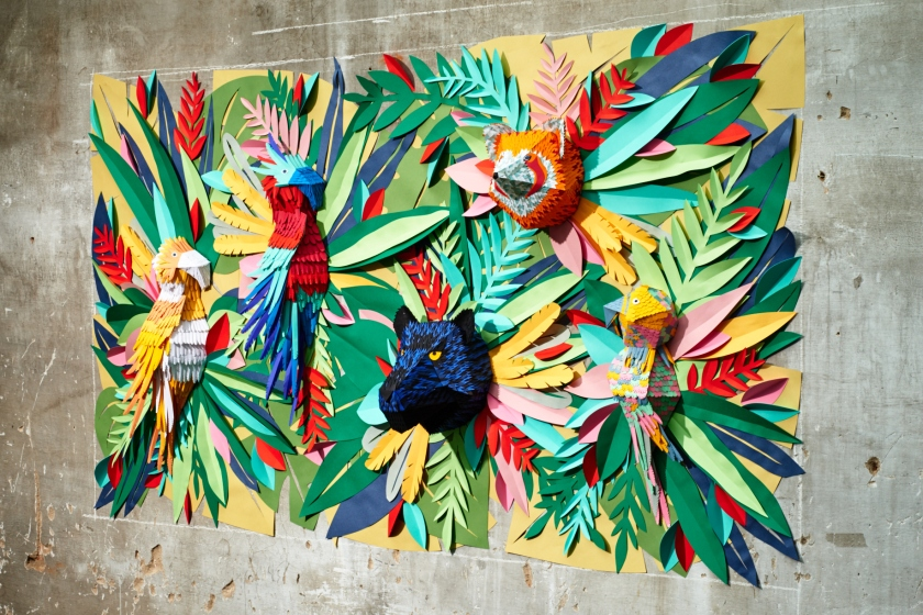 Tropical Jungle Mural